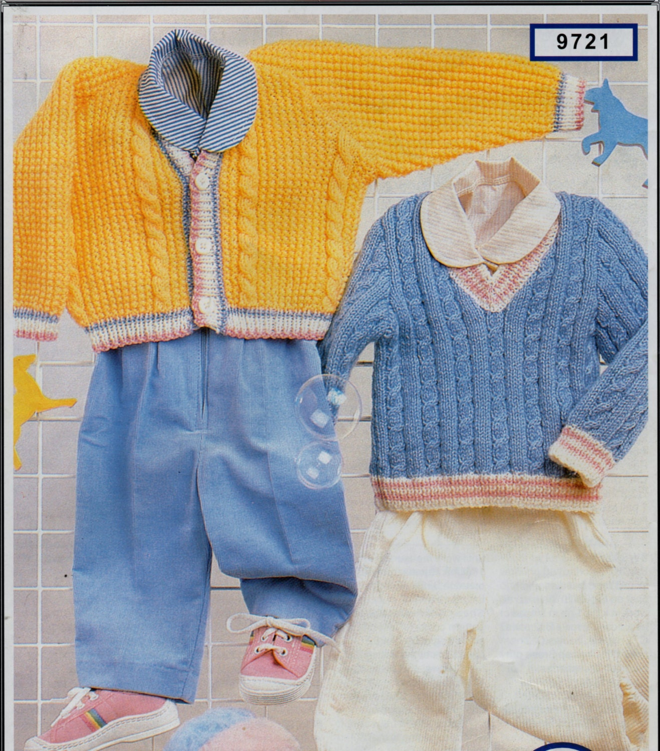 Knitting Pattern For Cricket Sweater : baby cable cardigan sweater knitting pattern pdf DK cricket