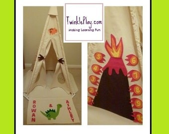 Items Similar To Kids Teepee Tent Play House Blue Whale