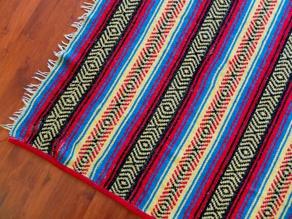 Vintage Mexican Blanket 42