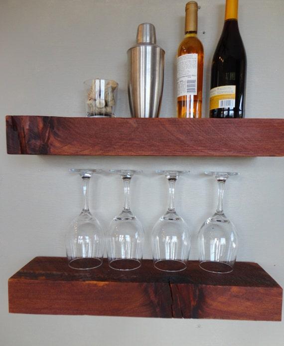 Barn wood shelves barnwood shelf over year by