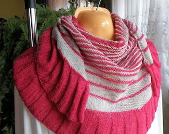 Knitted Shawl ,scarf