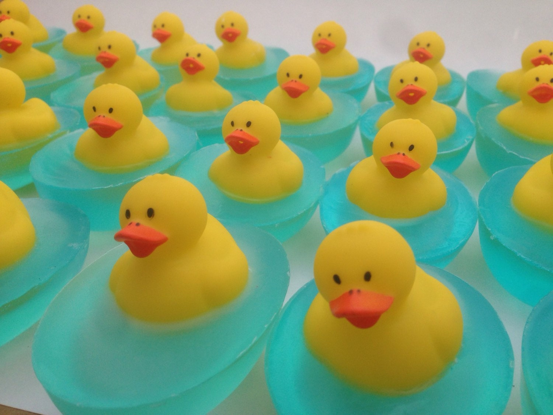 Baby Shower Favors Duck Soap ~ Duck soap favor rubber baby shower st