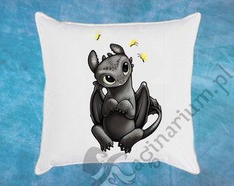 Toothless pillow