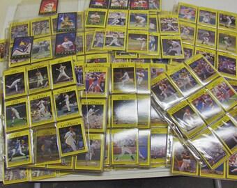 VINTAGE - 1991 Fleer™ Partial Baseball Card Set