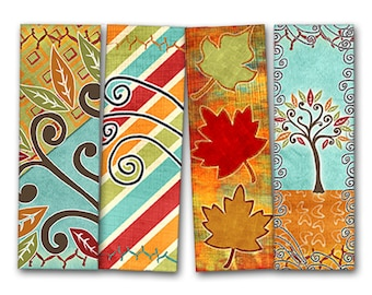 Bookmarks plants printable, Digital Collage Sheet, Download and Print Jpeg Images 1.7x5 inch