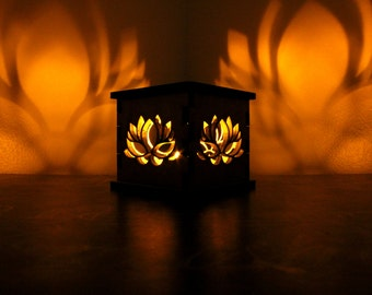 Lotus Flower - Tea Light Holder