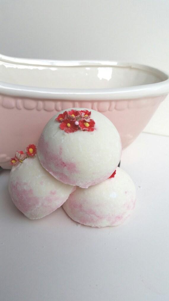 Strawberry & Rose Bath Creamer