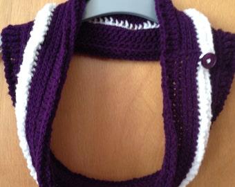 Cute Crochet Neckwarmer Cowl Scarf (adults)