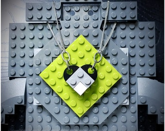 Lego Love Necklace