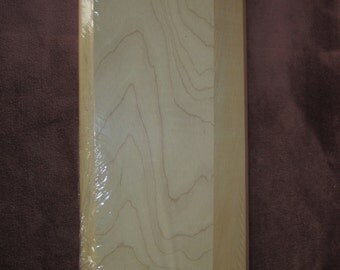 """Maple-tique wood plaque, 7""""x16"""", unfinished, tole painting, sign"""