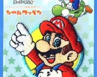 Super Mario Bros. Mario - Iron-on Patch 002