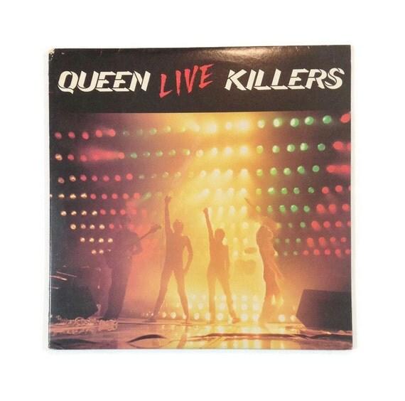 queen live killers vinyl record album classic by handshakerecords. Black Bedroom Furniture Sets. Home Design Ideas