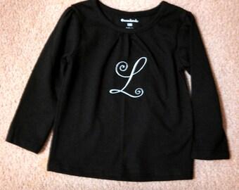 Girl's Monogrammed Shirt