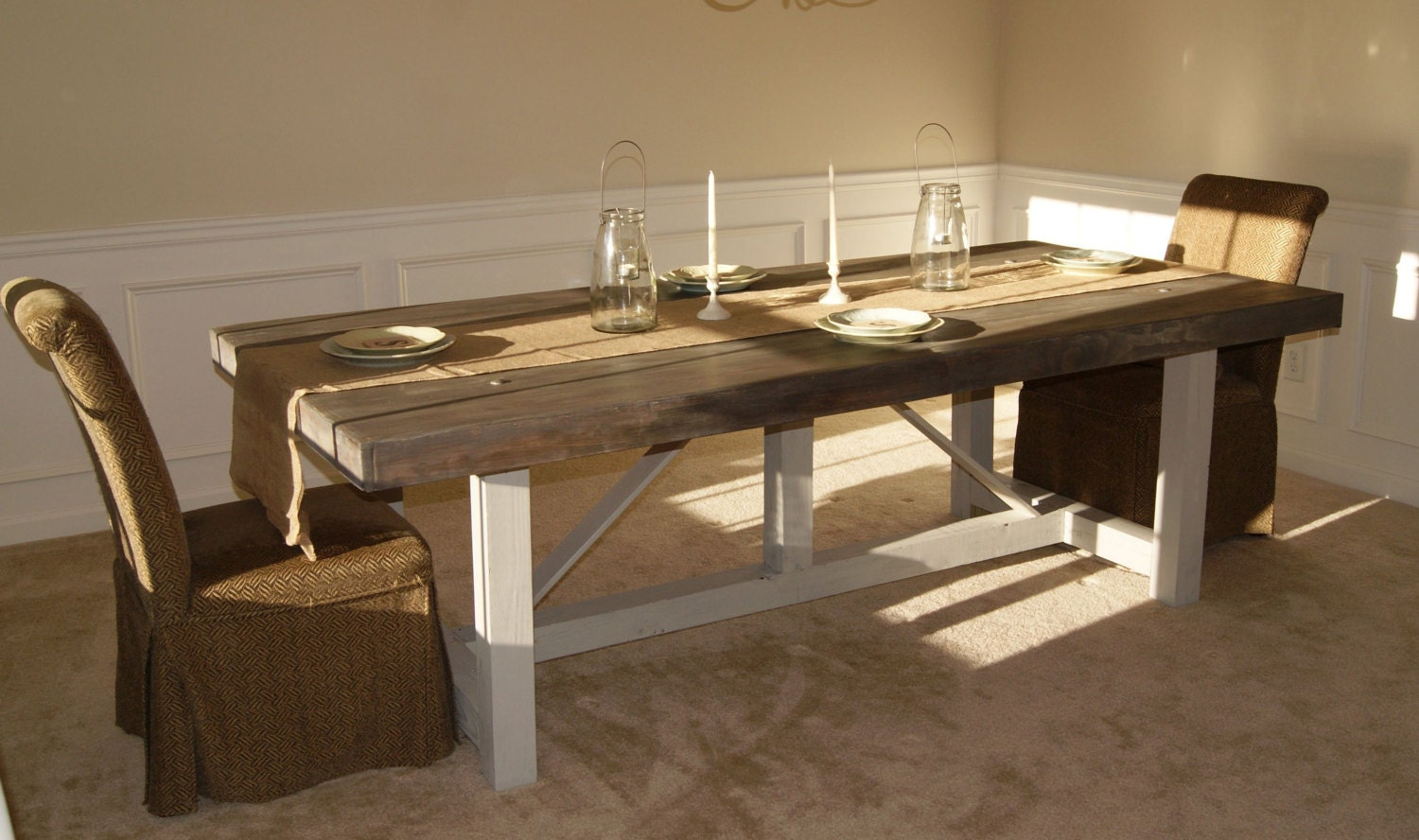 handmade farm table custom farmhouse table or desk 2784