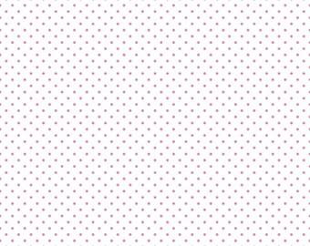 1 Yard- Hot Pink Swiss Dot by Riley Blake Designs- C660-70