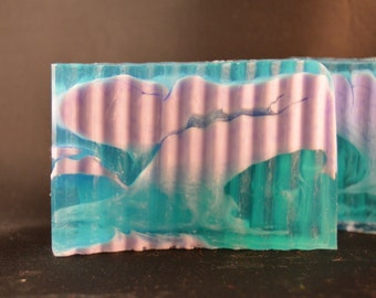 Caribbean Coconut homemade soap. A tropical twist of coconut milk and cool vanilla that's the perfect summer escape