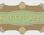 Harry Potter Butterbeer Logo Items similar to Butte...