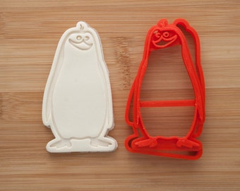 Rico.  Penguins of Madagascar.  Cookie cutters. Gingerbread and cookies.