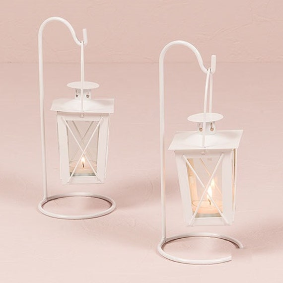 Set of mini lanterns with hanger by engravemefavours on etsy