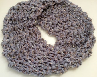 Hand-Knit Fashion Cowl
