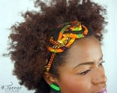 Kente Headband - Kente Cloth African Headband - Africain Fabric Headband - Kente Headband
