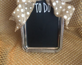 Chalkboard Tray! Great for Gifts