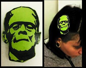 Frankenstein Hair Clip