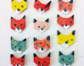 Fox Brooch