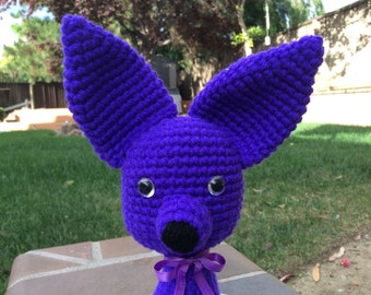 Chihuahua Plush Dog Toy Dog Stuffed Doggy Crochet