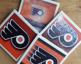 Set of 4 Philadelphia Flyers Coasters