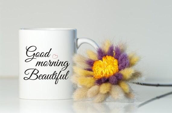 Very Good Morning In German : Good morning beautiful mug gift for her girlfriend