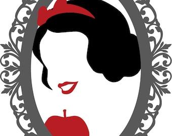 Snow White Mirror Etsy