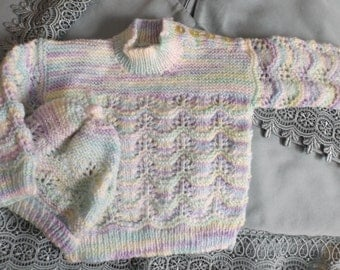 6 months 2 pieces all hand-made with love by Grandma Diahn
