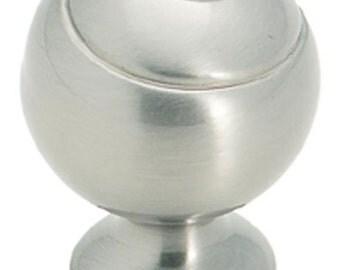 Satin Nickel Ball Knobs for Furniture, Cabinets, Kitchen, Bi-fold Doors