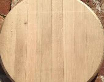 Plain Kentucky Bourbon barrel head