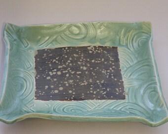 Handcrafted Stoneware Platter