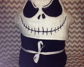 Jack Bones Hooded Towel