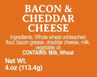 Cheddar Cheese and Bacon