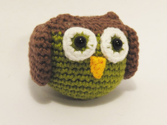 Amigurumi Owl Wings : Amigurumi owl cute crochet animal.
