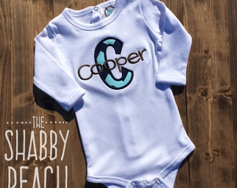 Personalized Onesie or Shirt, Baby Boy Gift