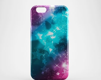 Tri Colour Stars Phone case,  iPhone X Case, iPhone 8 case,  iPhone 6s,  iPhone 7 Plus, IPhone SE, Galaxy S8 case, Phone cover, SS112a