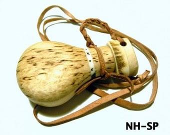 Handmade Curly Birch Salt/Pepper/Seasoning Bottle-Scandinavia Survival Bushcraft