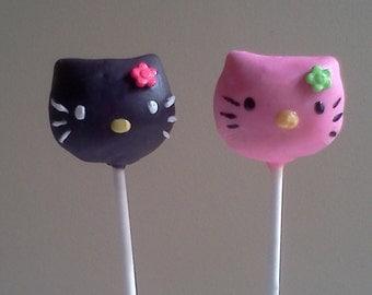 Hello Kitty Cake Pops (Revamped), 1 Dozen