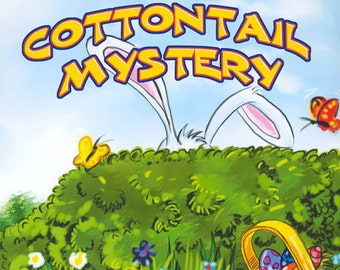 Personalized story book- The Cottontail Mystery