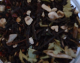 Protection magical tea 4 oz. loose leaf tea Protection Tea wicca occult witchcraft pagan witchcraft supply organic tea herbal tea pagan tea