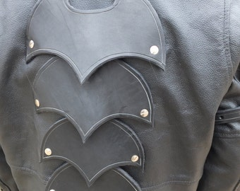 Jacket Back Armor Kit, 4 piece