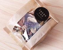 10 x Kraft paper bags / Kraft bags / Brown bags / gift bags / Kraft window bag / favor bags / candy bags / paper bags / party shower bags /