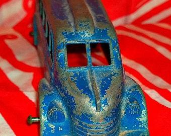 Vintage 1930s metal masters toy bus