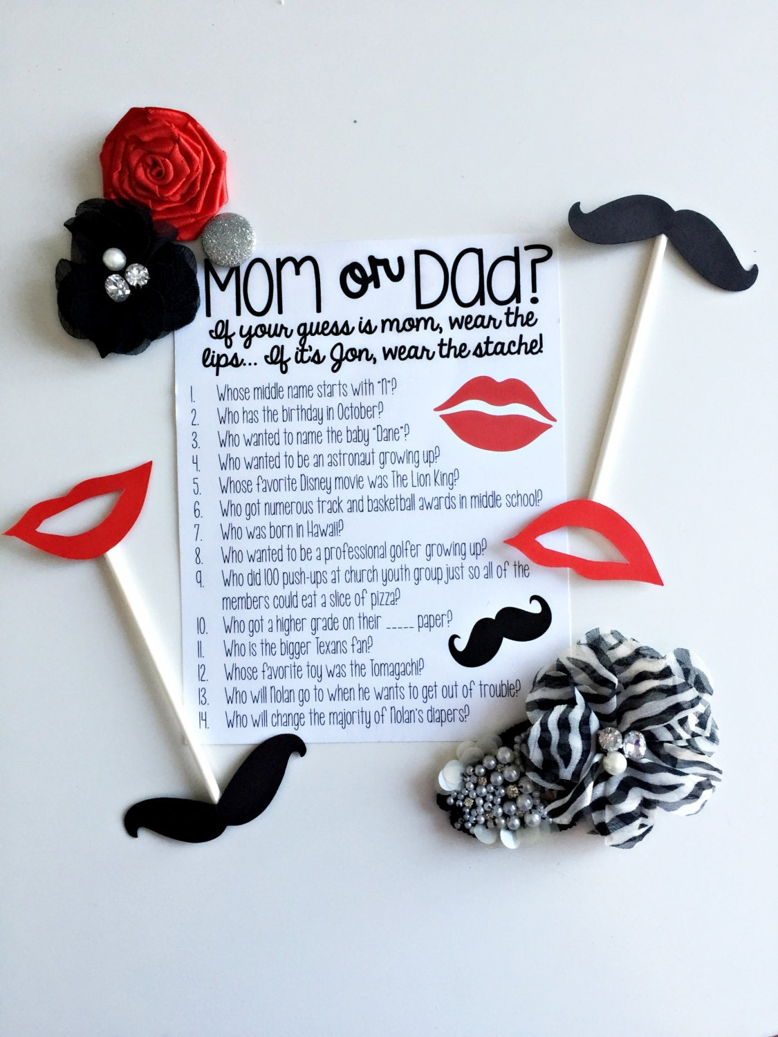 Mom And Dad Games For Baby Shower