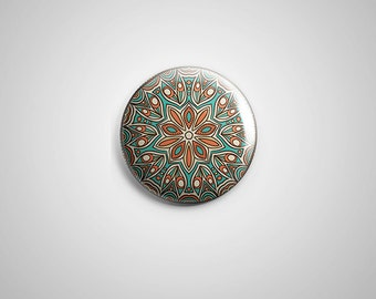 "PCS-PIN-033 - Pattern  Pinback button - 1.75""-Perfcase"